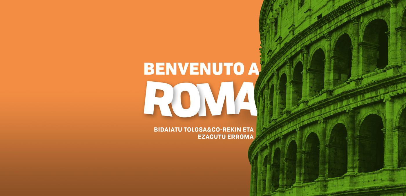 Viaje Roma - Tolosa & Co